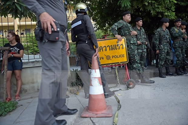 Thai woman hunted for Erawan shrine bomb attacks hinh anh 1