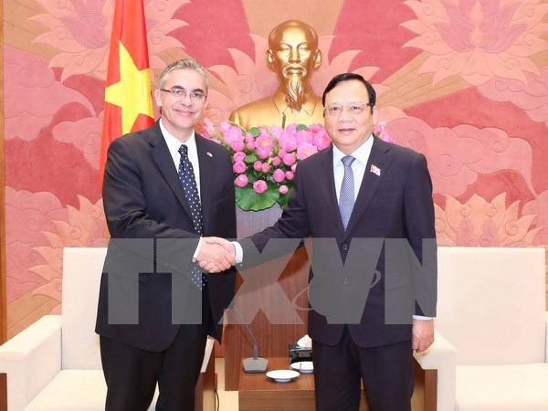 NA Vice Chairman greets Argentinean guests hinh anh 1