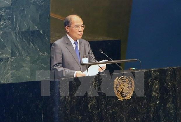Top legislator starts US official visit hinh anh 1