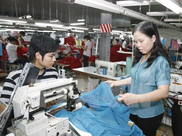 Hanoi's eight-month industrial production index rises 7.4 percent hinh anh 1