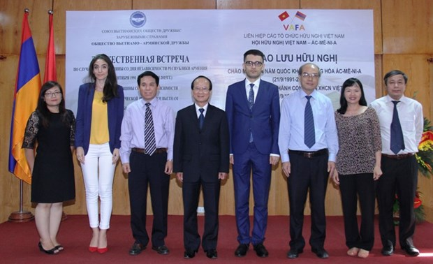 Exchange promotes Vietnam-Armenia friendship hinh anh 1