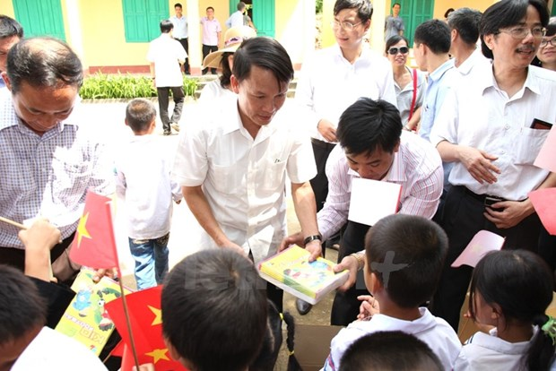 VNA supports school in Tuyen Quang hinh anh 1