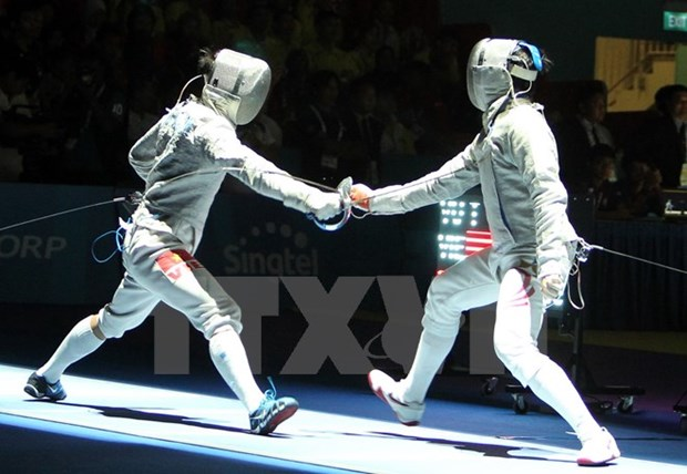 Vietnamese fencer claims gold at U23 championships hinh anh 1