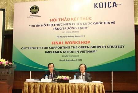RoK supports Vietnam's green growth hinh anh 1