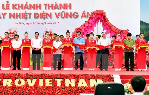 PM attends Vung Ang 1 thermo-power plant inaugural ceremony hinh anh 1