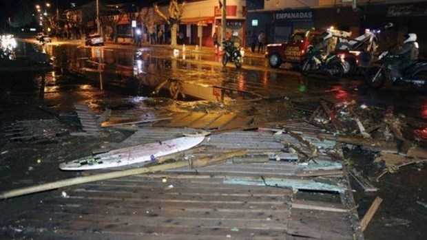 Sympathy goes out to Chile for earthquake aftermath hinh anh 1
