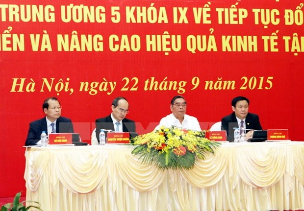 Collective economy needs more momentum: official hinh anh 1