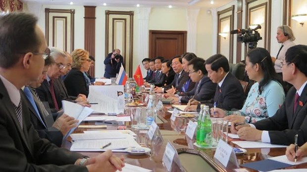 National Assembly Vice Chairwoman visits Russia hinh anh 1