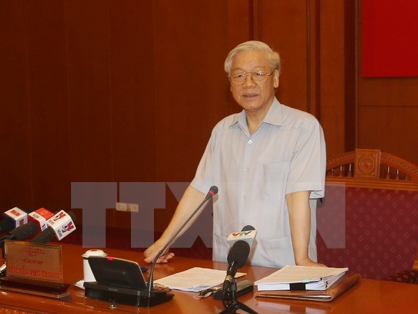 Party chief calls for increased anti-corruption coordination hinh anh 1