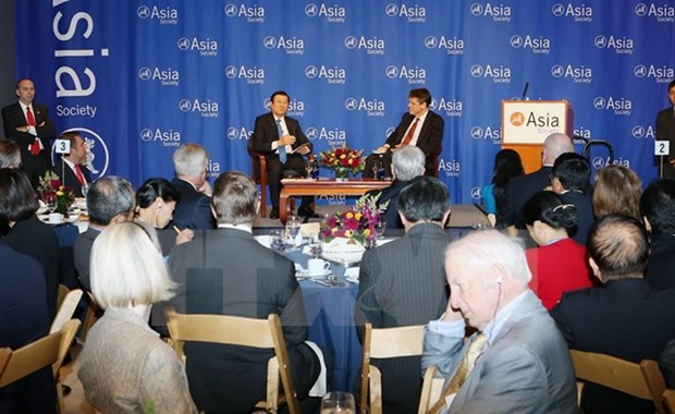 President attends Policy Dialogue on Vietnam-US ties hinh anh 1