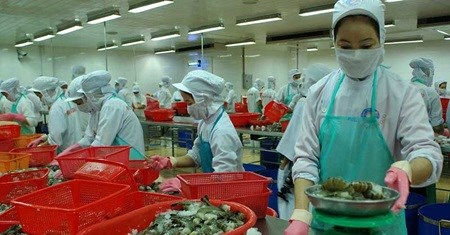 Vietnamese shrimp exports to UK rise hinh anh 1