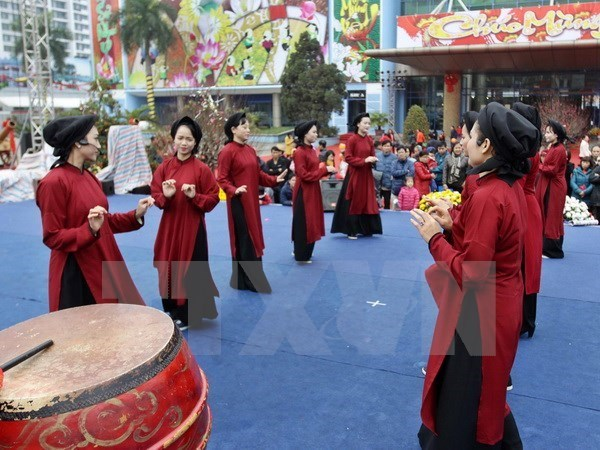 Xoan singing impresses international heritage experts hinh anh 1