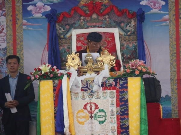 12th Gyalwang Drukpa prays for peace, fallen soldiers in Tay Ninh hinh anh 1