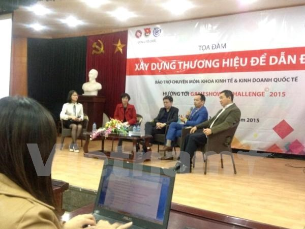 Forum discusses leading brand building in Vietnam hinh anh 1