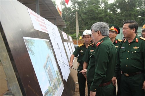 Training of sappers for UN peacekeeping missions inspected hinh anh 1