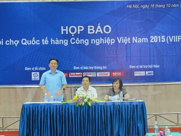 Vietnam International Industrial Fair 2015 to open this month hinh anh 1
