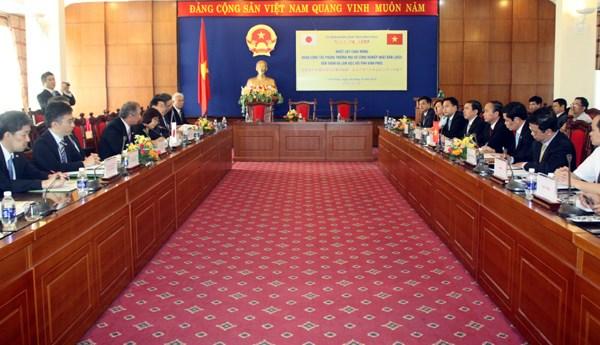 Vinh Phuc attractive to Japanese investors hinh anh 1