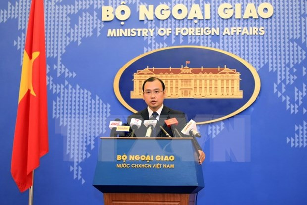 Vietnam reserves its rights, legal interests in the East Sea hinh anh 1