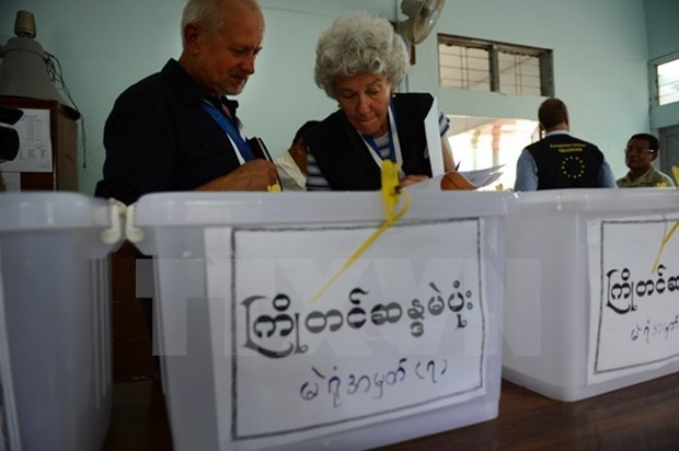 Myanmar opens door to international observers during election hinh anh 1