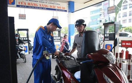 Fuel prices fall following global trend hinh anh 1