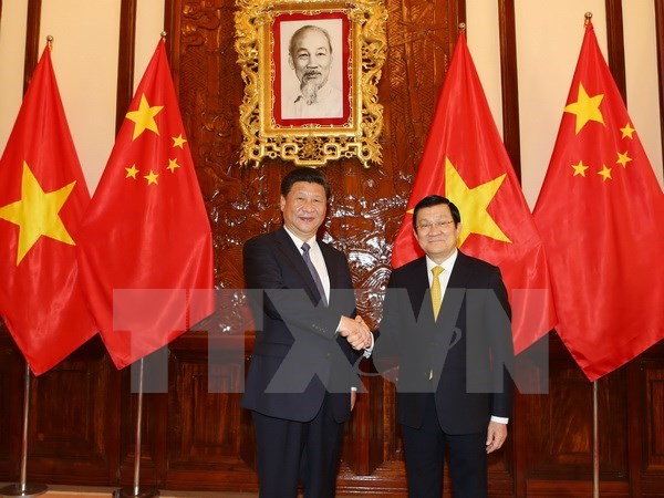 Vietnam, China issue joint statement hinh anh 1