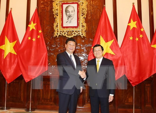 President calls for increased Vietnam-China political trust hinh anh 1
