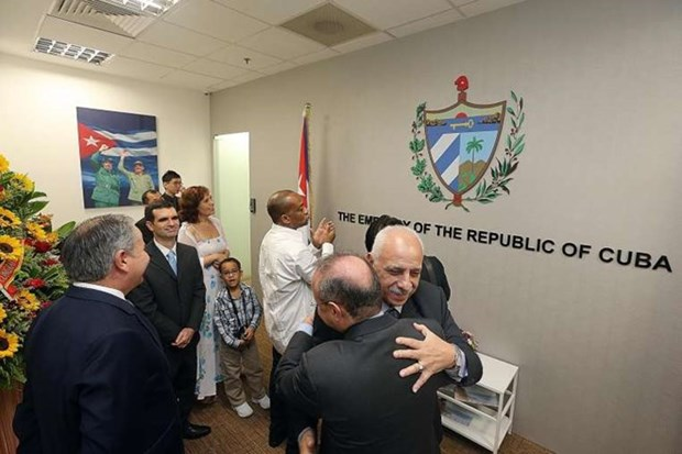 Cuba opens embassy in Singapore hinh anh 1
