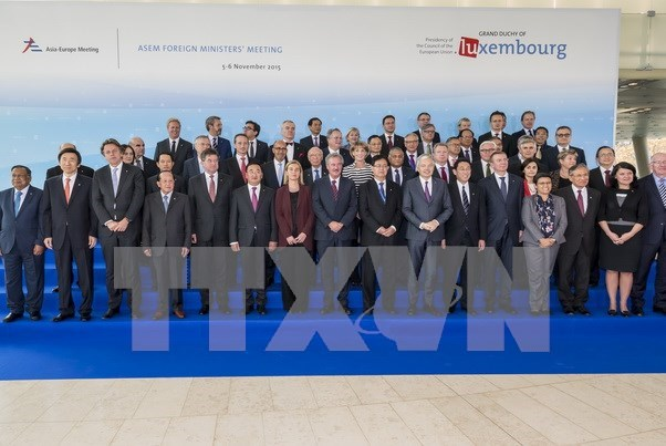 Vietnam's initiatives hailed at 12th ASEM foreign ministers' meeting hinh anh 1