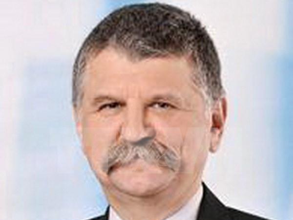 Hungarian National Assembly Speaker starts Vietnam visit hinh anh 1