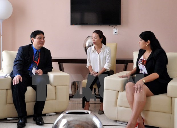 Vietnam, Cuba youth organisations tighten bonds hinh anh 1