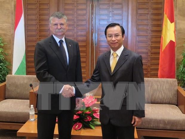 Hungarian Speaker visits central Da Nang city hinh anh 1