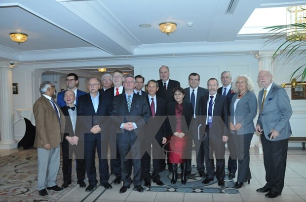 European parliamentarians' group for friendship with Vietnam set up hinh anh 1