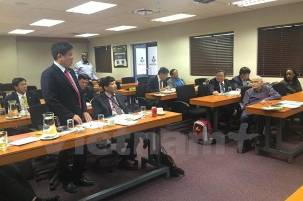 Vietnam, South Africa share experience in goods reserves hinh anh 1