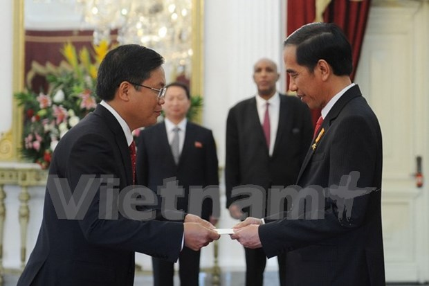 Vietnam-Indonesia stronger ties hoped for ASEAN Community growth hinh anh 1