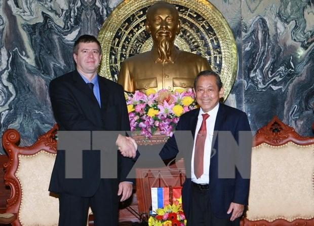 Vietnam, Russia seek stronger judicial ties hinh anh 1