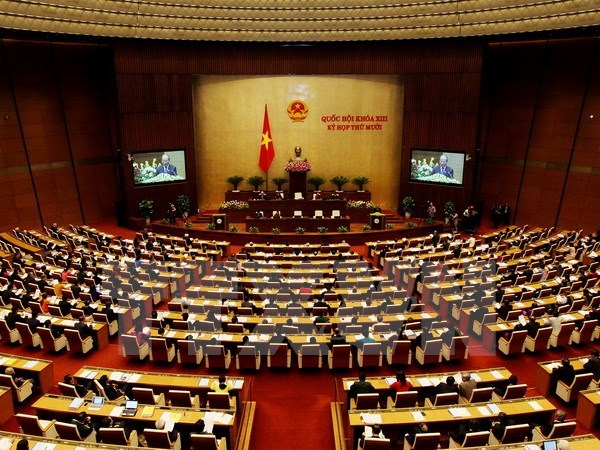 13th National Assembly's 10th session wraps up successfully hinh anh 1