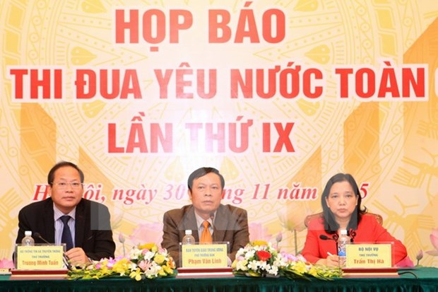 National patriotic emulation congress to open next month hinh anh 1