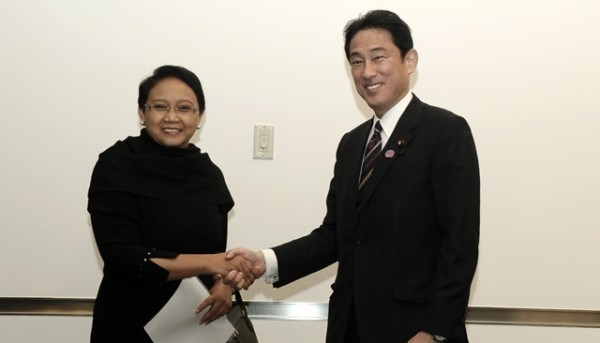 """Japan, Indonesia to hold """"2-plus-2"""""""" security talks hinh anh 1"""