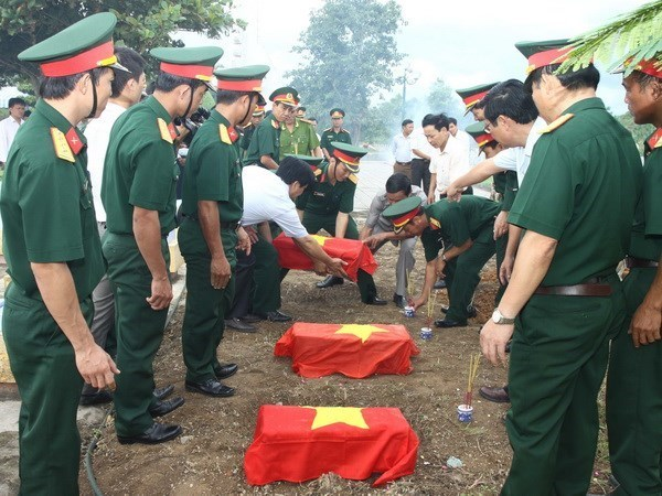 Teleconference on martyr remains collection to be held hinh anh 1