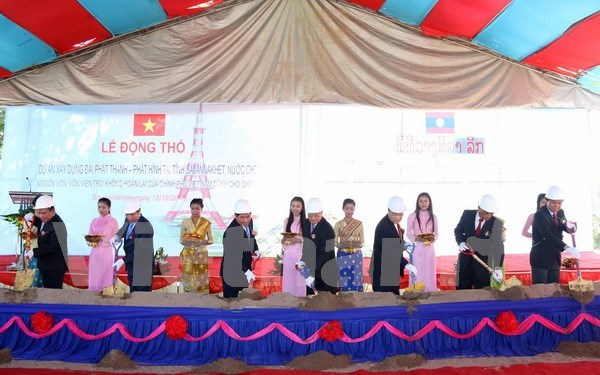 Vietnam helps Laos develop broadcasting infrastructure hinh anh 1