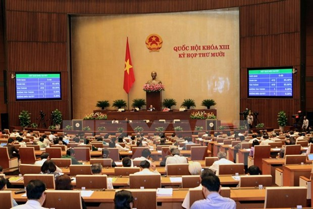 Presidential Office announces nine laws, two resolutions hinh anh 1