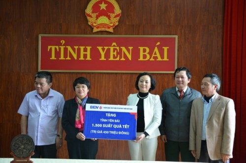 BIDV vows to improve social welfare in Yen Bai hinh anh 1