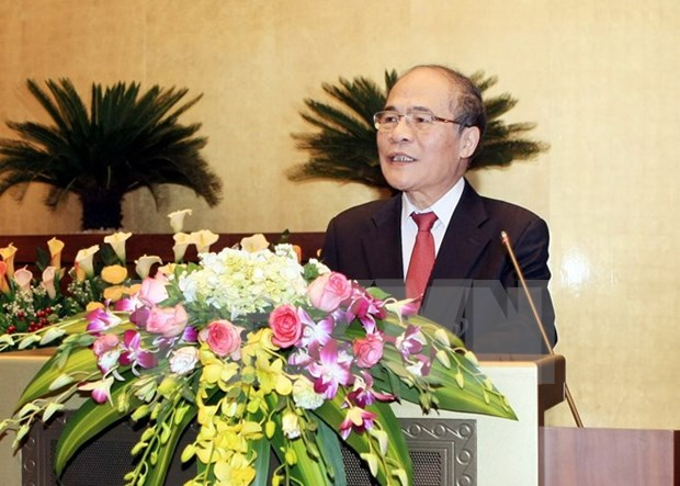 NA Chairman's China visit places emphasis on ties hinh anh 1
