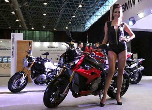 Big names to appear at 2016 Vietnam Motorcycle Show hinh anh 1