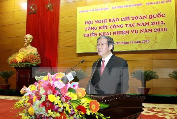 Press agencies praised for good performance hinh anh 1