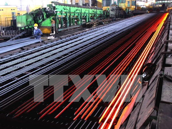 Chinese steel labelled Vietnamese-made for export under examination hinh anh 1