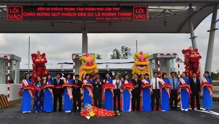 Most modern bus station inaugurated in Mekong Delta hinh anh 1