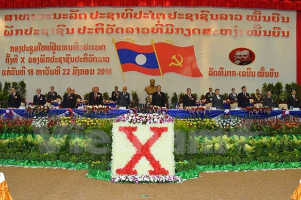 Lao party marks strong development hinh anh 1