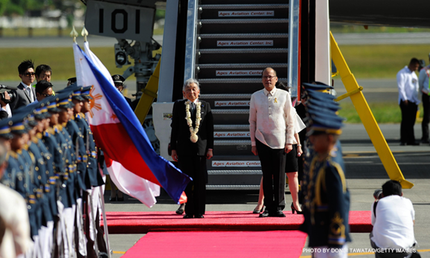 Japanese Emperor begins State visit to Philippines hinh anh 1