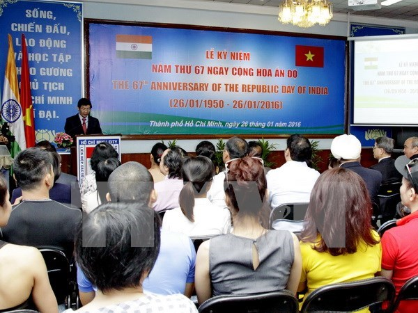 India's 67th Republic Day celebrated in Ho Chi Minh City hinh anh 1